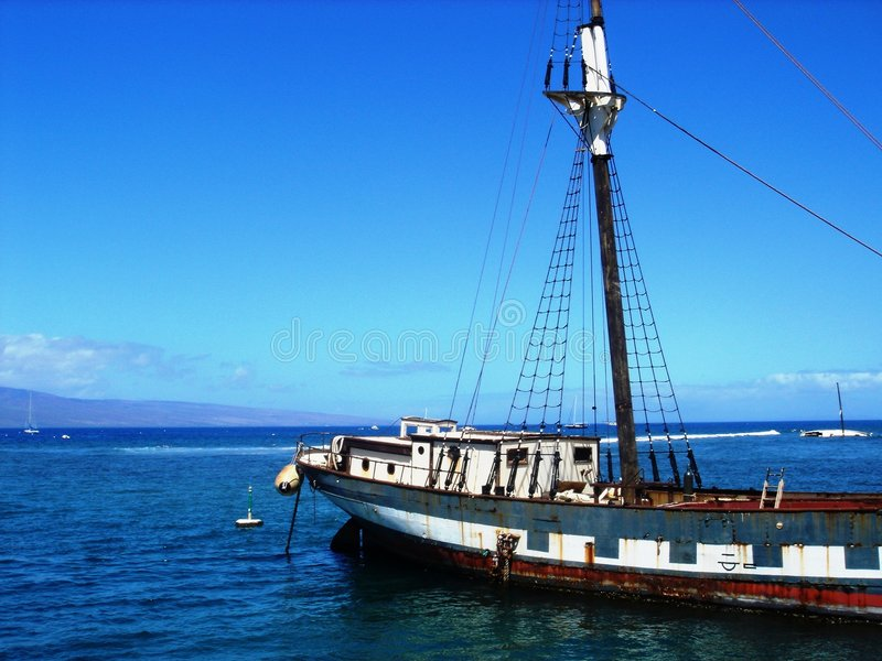Maui-Blau stockfotografie