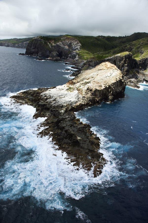 Maui coastline. royalty free stock image