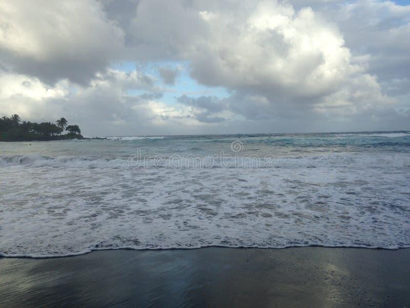 Maui, Hawaï, la plage du surfer image stock