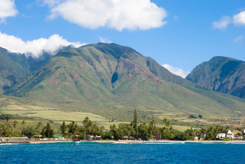 Maui, Hawaii - das Tal isla lizenzfreie stockfotografie