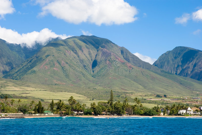 Maui, Hawaii - the valley isla royalty free stock photography
