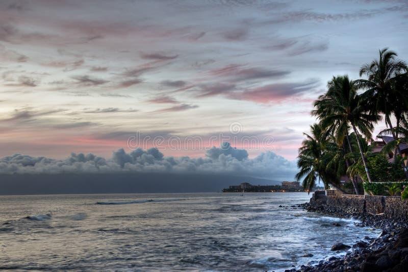 Maui-Küstenlinie stockfotografie