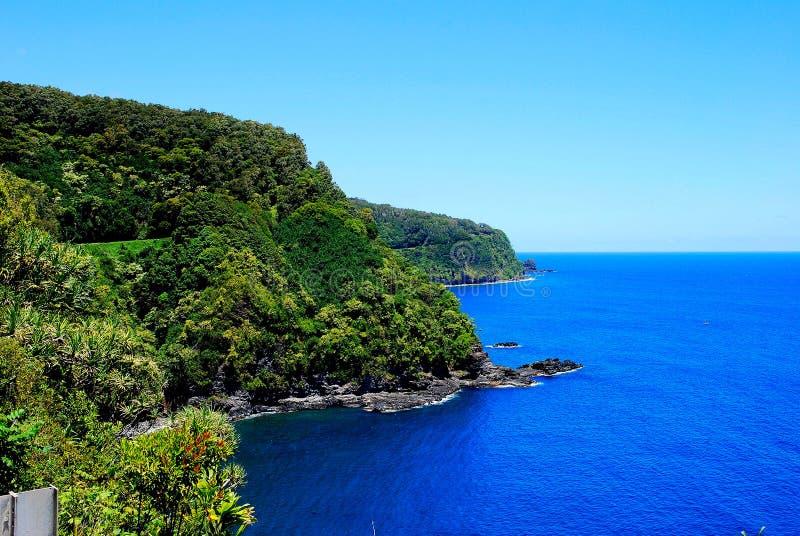 Maui krajobraz zdjęcie stock
