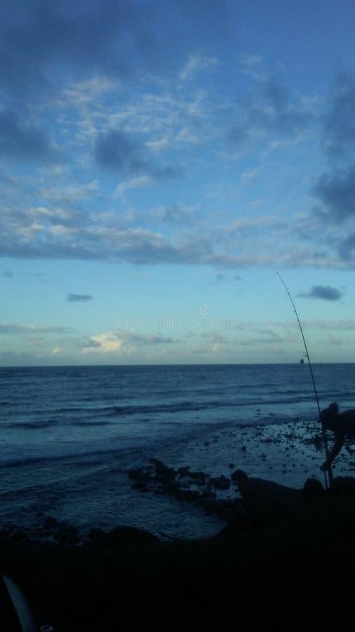 Maui stasera immagini stock libere da diritti