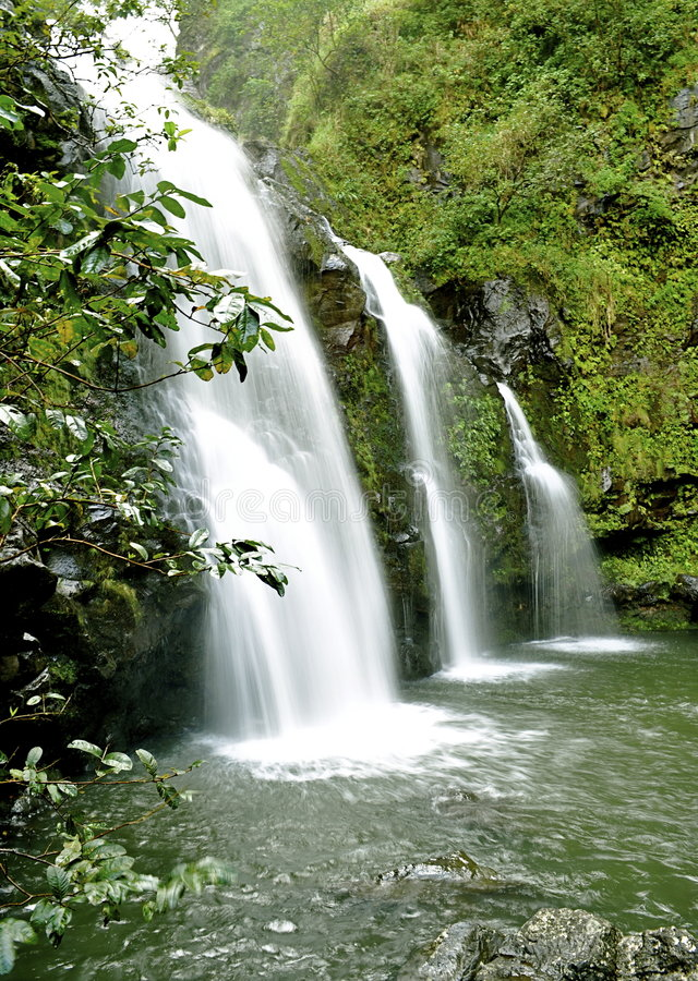 Download Maui Waterfall Royalty Free Stock Images - Image: 9332169
