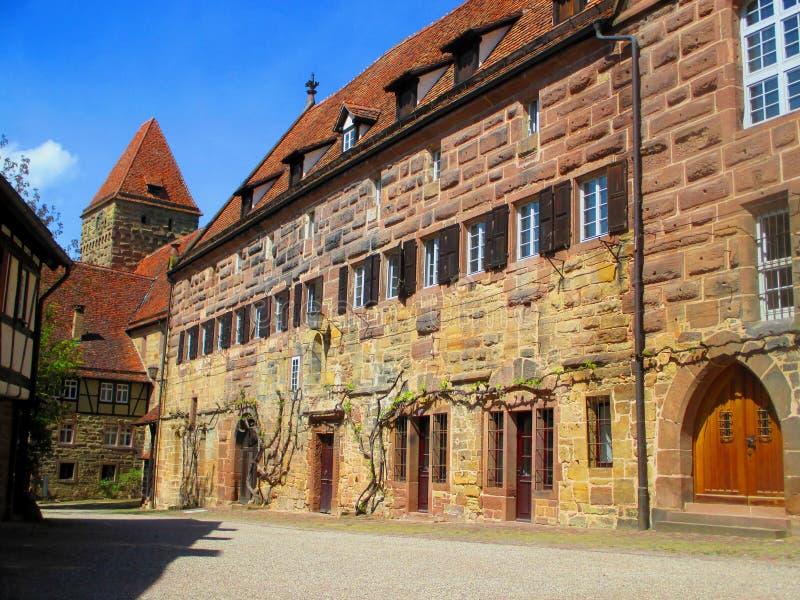 Maulbronn monaster w Niemcy Unesco światowego dziedzictwa zabytek zdjęcie royalty free
