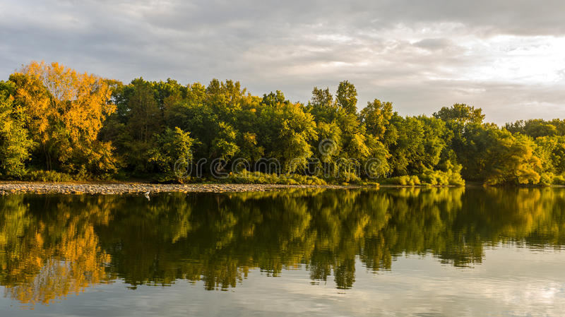 Maumee河 库存照片
