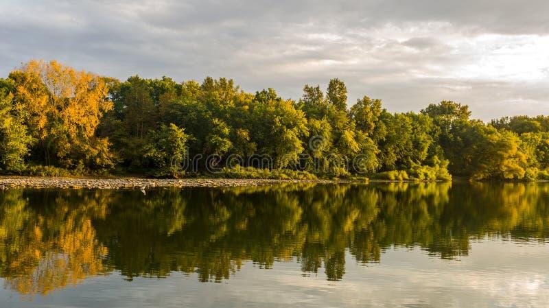 Maumee-Fluss stockfotos