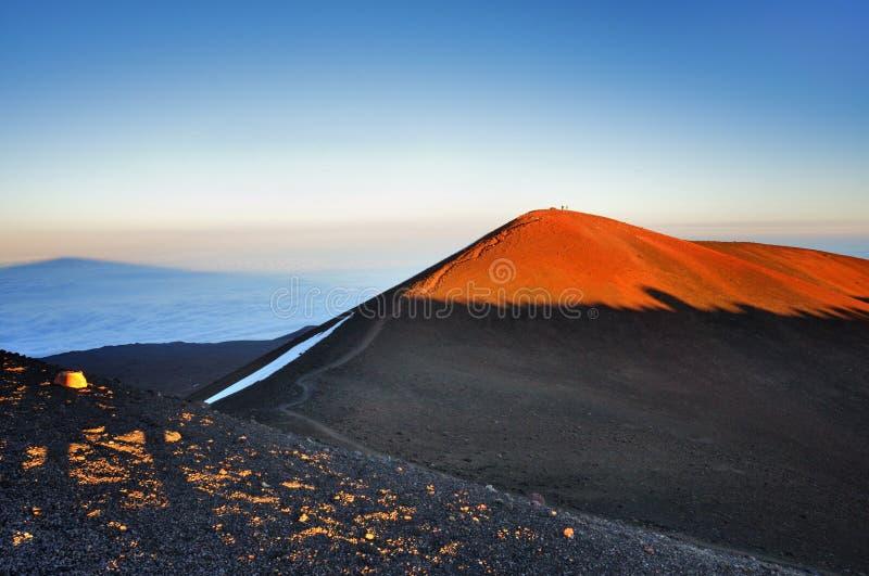 Mauna Kea stockbild