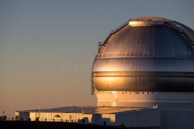 Mauna Kea Telescope Hawaii stock fotografie