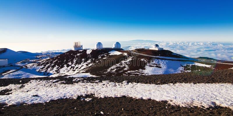 Mauna Kea toppmöte fotografering för bildbyråer