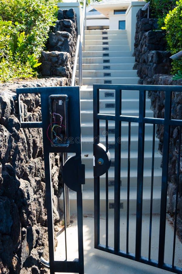 Mauna Lani Bay Big Island Hawaii imagem de stock
