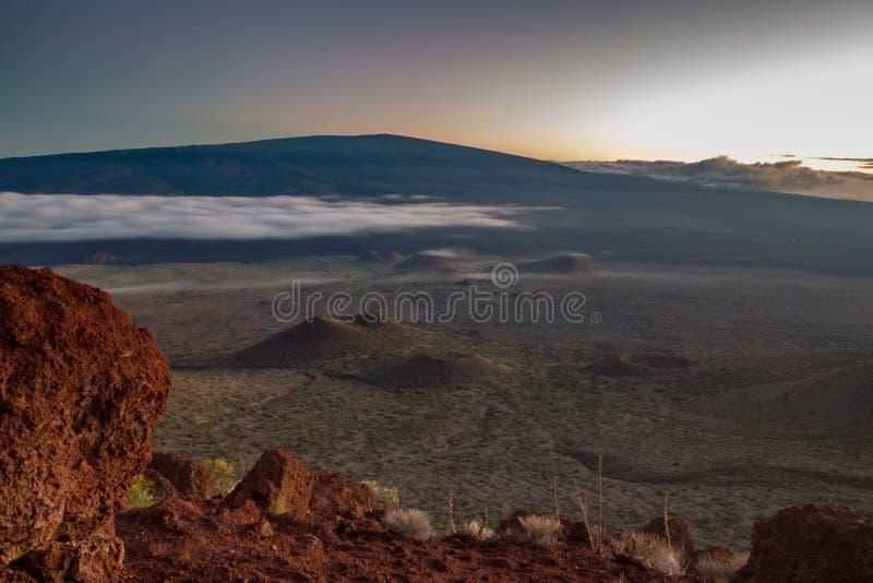 Mauna Loa royalty-vrije stock afbeeldingen