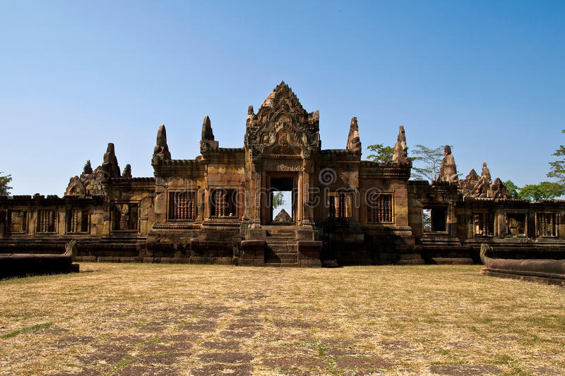 Maung Tam Castle. In Thailand royalty free stock photo