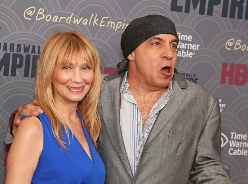 Maureen Van Zandt i Steven Van Zandt zdjęcia royalty free