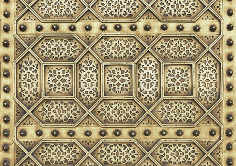 Mauretański metalu wzór obrazy royalty free