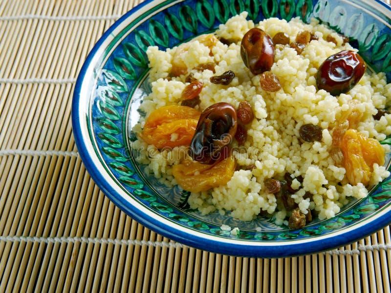 Mauretanien maträttcouscous fotografering för bildbyråer
