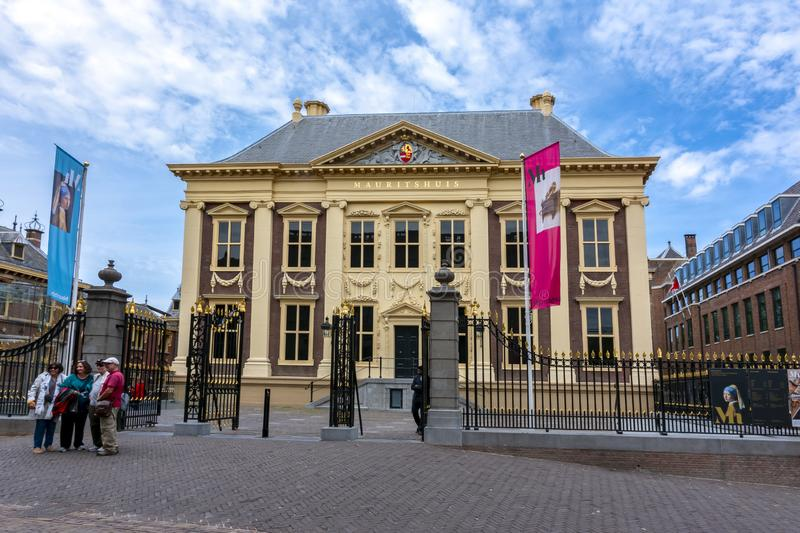 Maurice House Mauritshuis - art museum in center of the Hague, Netherlands stock photo