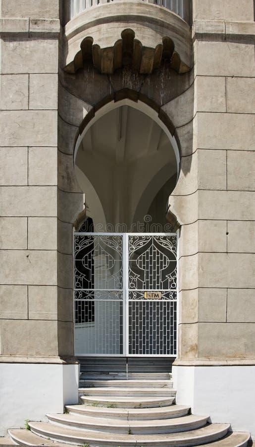 Maurische Architektur in Malaysia lizenzfreies stockfoto