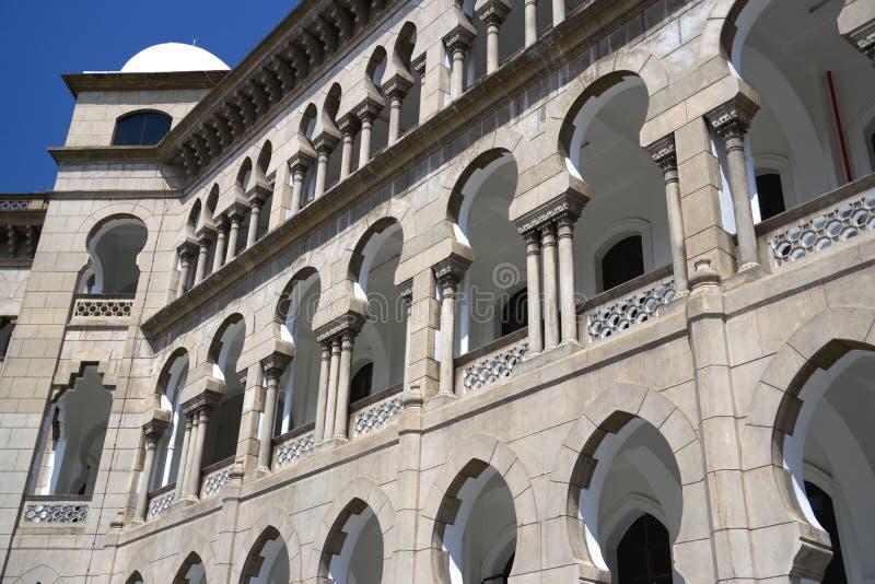 Maurisches Art-Gebäude stockbilder