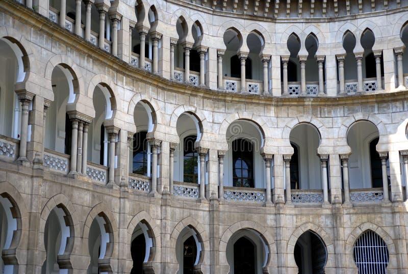 Maurisches Art-Gebäude lizenzfreie stockfotos