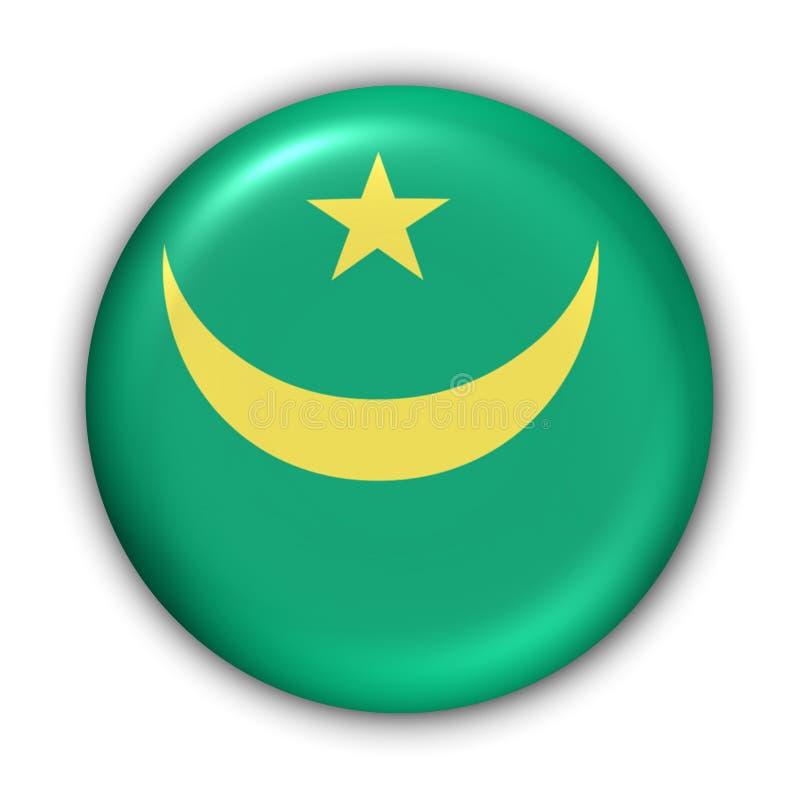 Mauritania bandery ilustracji