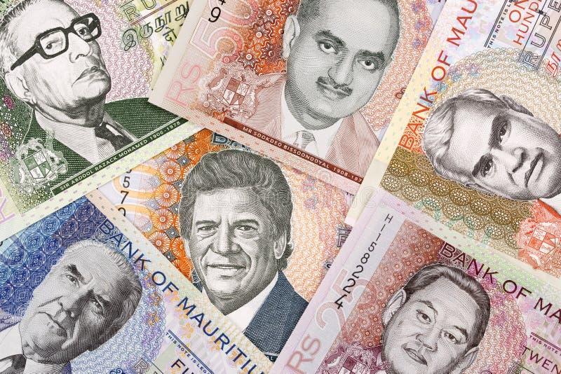 Mauritiaans geld een achtergrond