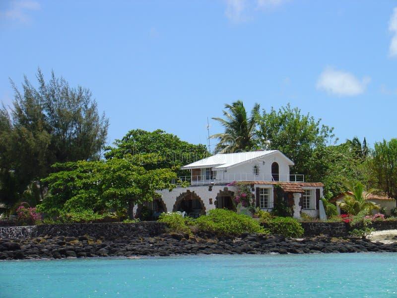 Mauritiaans huis stock foto's