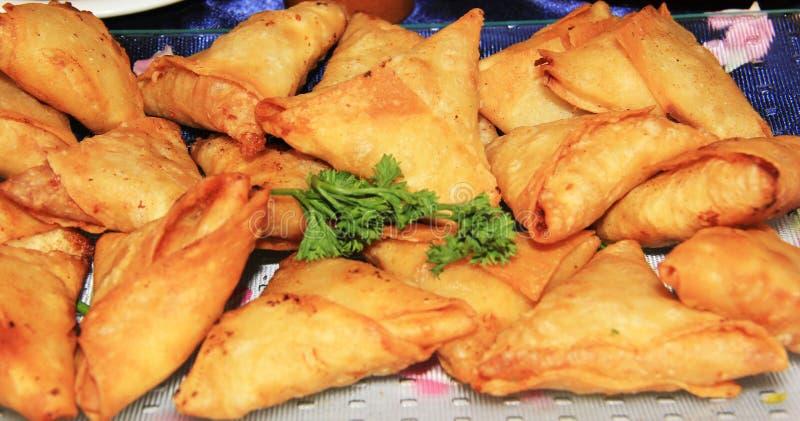 Mauritiaanse snacks royalty-vrije stock afbeelding
