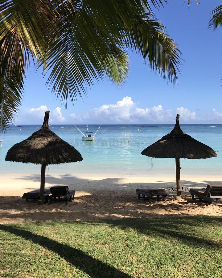 Mauritius Beach stockbild