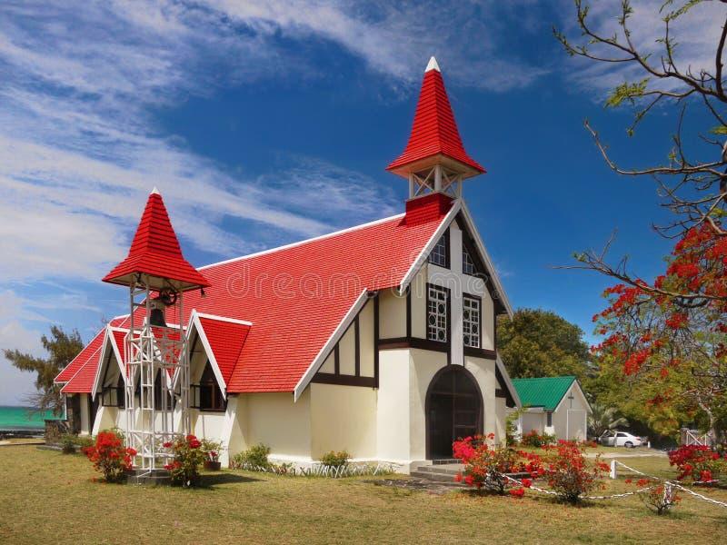 Mauritius Island, casquillo Malheureux de la iglesia fotos de archivo libres de regalías