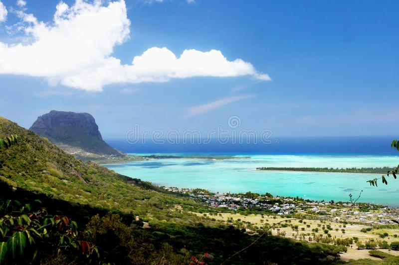 Mauritius Island tropical exótico fotos de stock royalty free