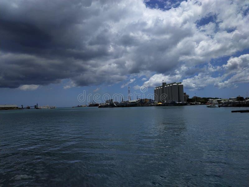 Mauritius Land Port, Port Louis Beautifully decorato con un ambiente bellissimo per i visitatori fotografia stock