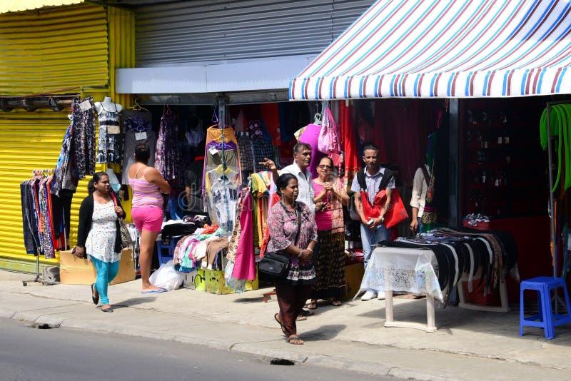 Mauritius, malerisches Dorf von Goodlands lizenzfreies stockbild