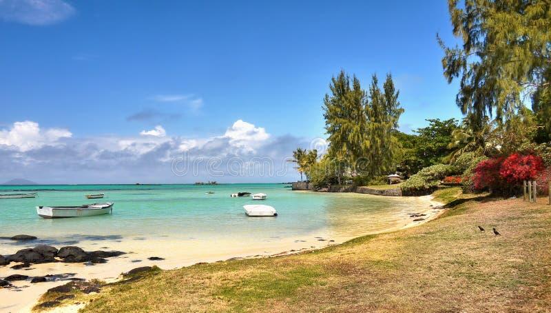Mauritius Tropical Island, côte ouest, l'Océan Indien image stock