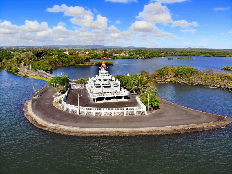 Mauritius wyspa, Hinduska świątynia, poczta De Flacq zdjęcia royalty free