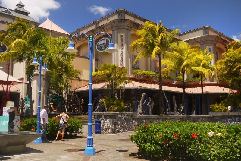 Mauritius wyspa, Port Louis miasto, Caudan centrum zdjęcie royalty free