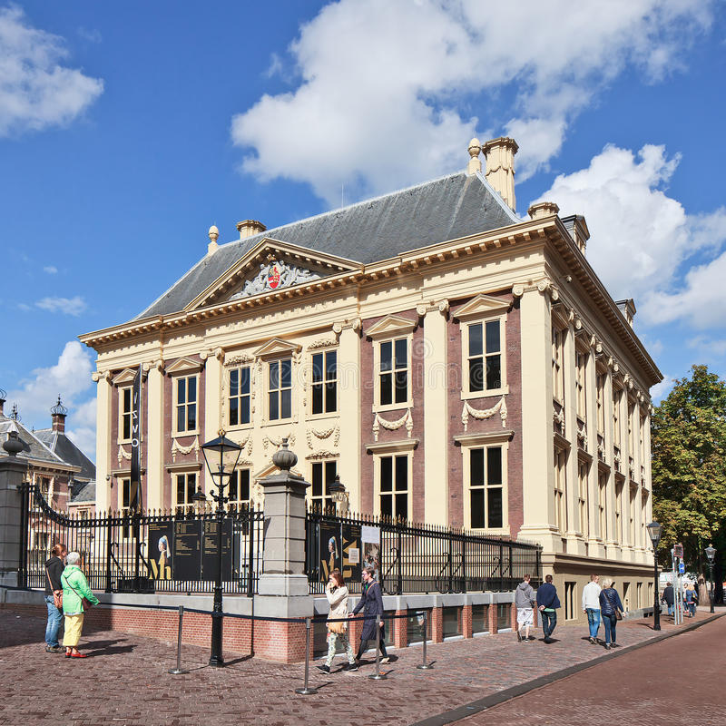 Maurits house, art museum, The Hague, Netherlands stock photography