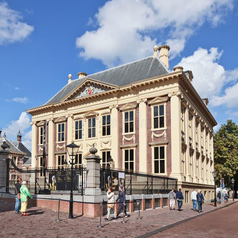 Maurits hus, konstmusem, Haag, Nederländerna arkivbild