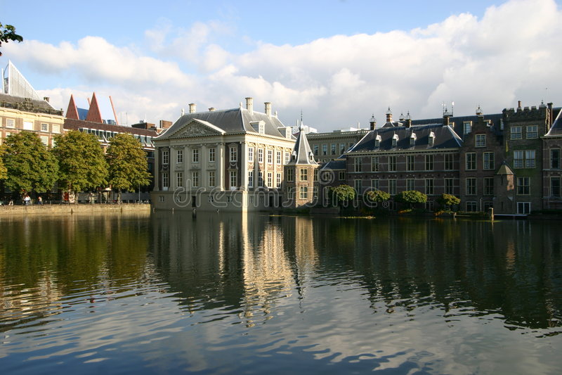 mauritshuis стоковая фотография rf