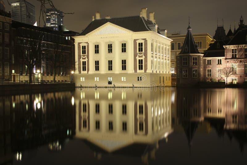 Mauritshuis Den Haag royalty-vrije stock fotografie