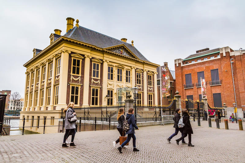 Mauritshuis or Maurice House art museum in Hague, Holland stock photos