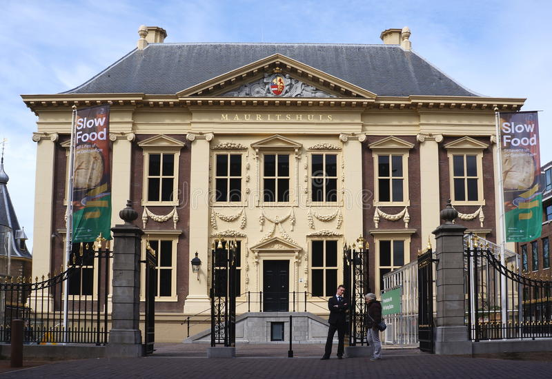Mauritshuis museum, The Hague stock photography