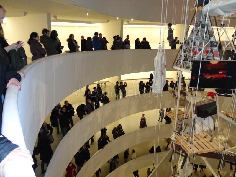 Maurizio Cattelan: Wszystko Przy Guggenheim NYC 31 zdjęcia stock