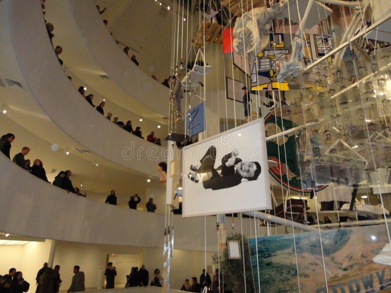 Maurizio Cattelan: Wszystko Przy Guggenheim NYC 87 zdjęcie royalty free
