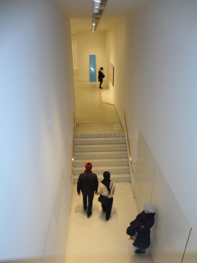 Maurizio Cattelan: Wszystko Przy Guggenheim NYC 11 obrazy stock