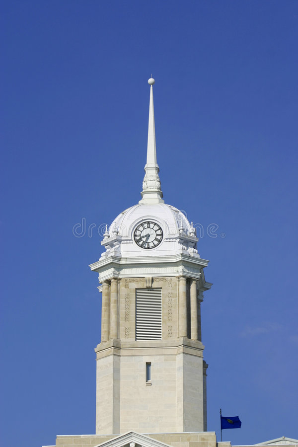 Maury County Courthouse stock photo