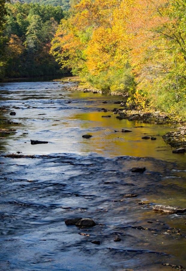 Maury River – Goshen, Virginia, USA stock photo