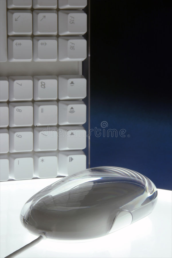 Maus und Tastatur lizenzfreies stockfoto