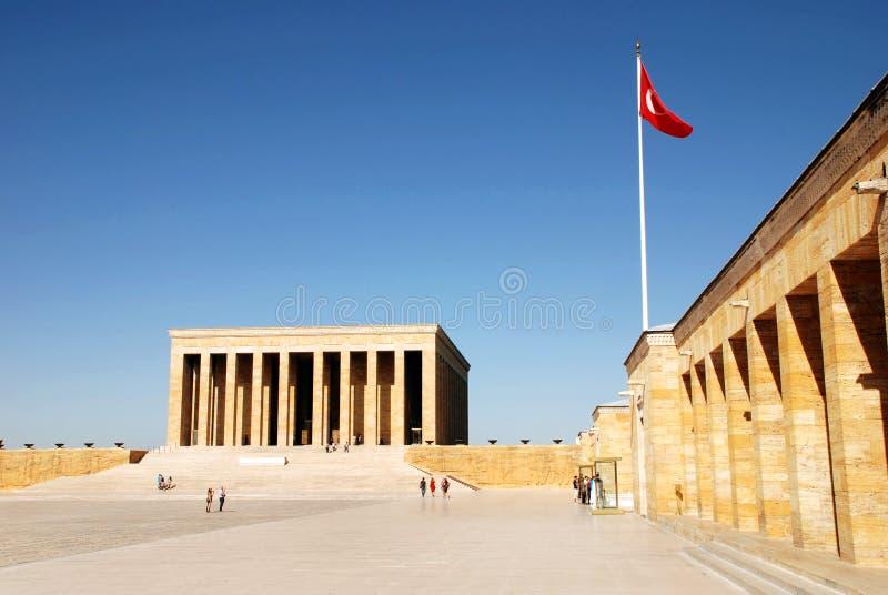 Mausolée d'Ataturk photos stock